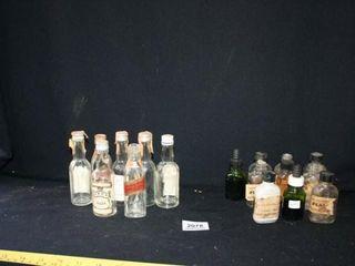 Empty Mini liquor bottles  Ink Bottles