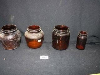 Brown Glass Jars  Baked Beans  Salt