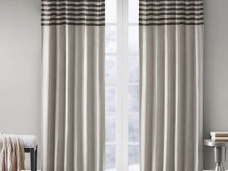 Connell Curtain Panel 95 x42    Gray    Set of 2