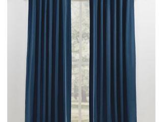 lauren Ralph lauren Waller Blackout Back Tab Rod Pocket Curtain Panels   52 x108     SET OF 4