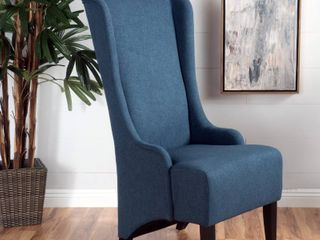 Callie High back Fabric Accent Chair by Christopher Knight Home
