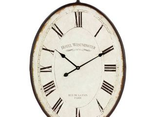 Ines large Oval Wall Clock