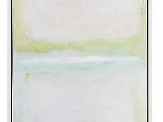 Martha Stewart Dvinsk Series Framed Canvas with Gel Coat