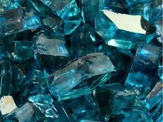 Fire Glass Cubes   10 lbs   Indoor Outdoor Fire Pits or Fireplaces