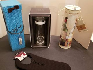 Wine canisters and holders