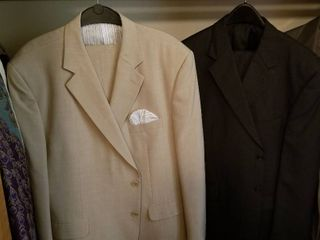 Stafford mens suits pants 42 x 30 qty 2