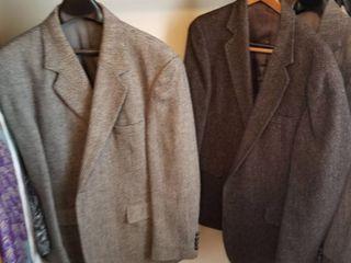 Mens suit jackets 44 short qty 2