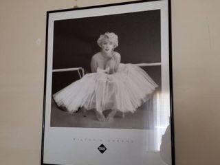 Marilyn Monroe framed print 24 x 19