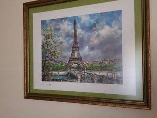 Eiffel Tower 18 x 22