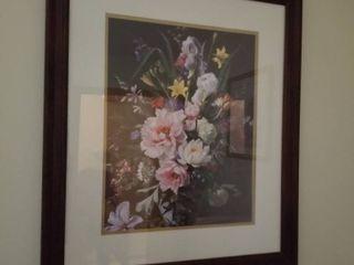 Floral print 27 x 23