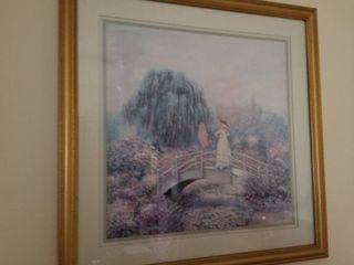 Sambataro framed artwork 22 x 22