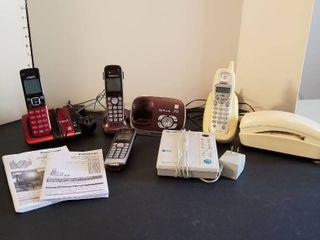 Assorted phones