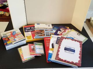 An assortment of office paper and photo paper