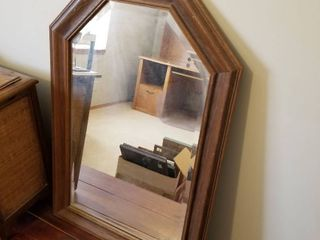 Wall mirror beveled  30 by 20