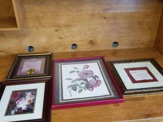 Assorted artwork set of 4