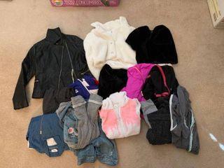 Girls jackets size large