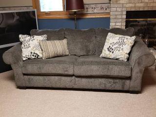 Dark grey sofa 36 x 88 x 36