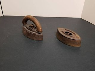 Antique metal irons