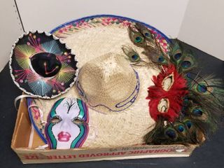 Sombreros and masks