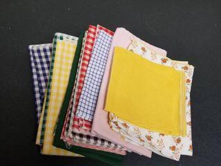 Assorted napkins