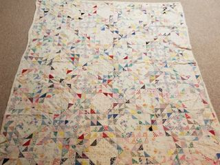 Multicolored quilt 6  by 5