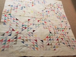 Quilt Multi colored 7  by 6