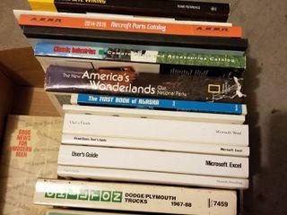 Assorted books user manuals