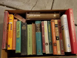 Assorted books text books
