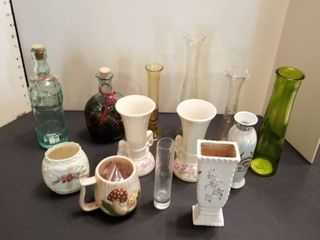 An assortment of vases