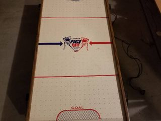 Carom Face Off air hockey  works  7 x 45 x 20