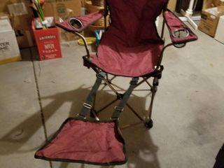 Folding chair lounger
