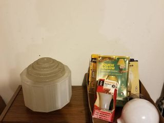 Globe and assorted light  bulbs