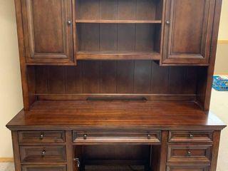 Desk with hutch 66 x 78 x 24