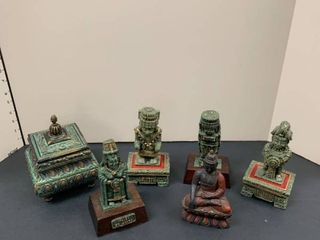 And assortment of Asian decor