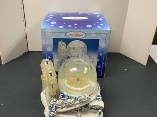 Snow motion water globe
