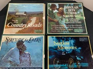 Assorted album collections