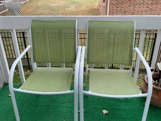 Set of two outdoor chairs