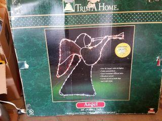 Trim a home angel 38  tall