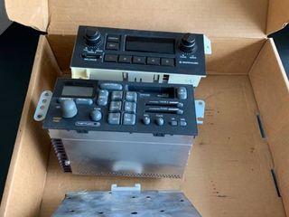 Set of three car stereos