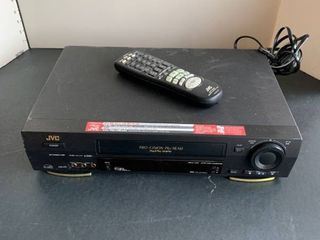 JVC VHS player with remote