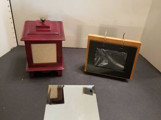Picture frames and glass