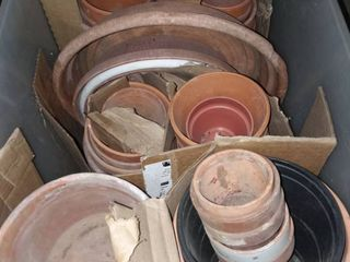 Assorted Clay Pots
