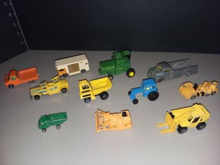 Vintage Hot Wheels and Matchbox Cars lot of 11