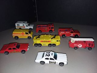 Vintage Hot Wheels and Matchbox Cars lot of 8