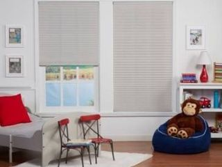 Copper Grove Yerevan 48 inch Silver Grey light filtering Pleated Shade