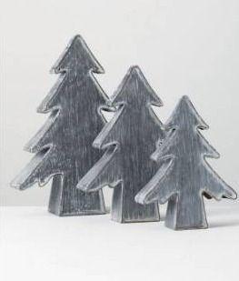 Tree  Set of 3  iron