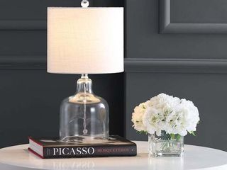 Gemma 19  Glass Bell lED Table lamp  Gold by JONATHAN Y