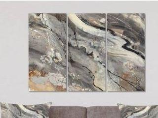 Designart  Fire and Ice Minerals II  Farmhouse Canvas Artwork Retail 139 99