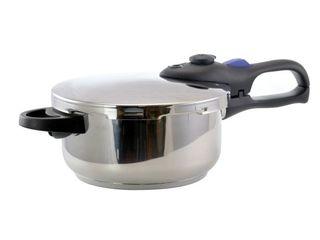 Better Chef 4 Quart Pressure Cooker  Silver