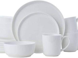 Mikasa Samantha Bone China 16 piece Dinnerware Set  Service for 4  Retail 97 49
